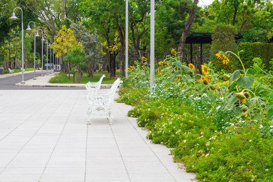 Public park it is quite cool and pleasant.