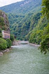 Acharistskali river, Adjara, Georgia