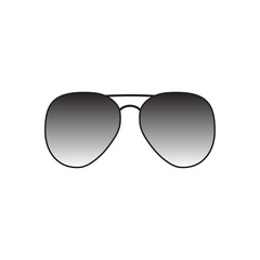 vector icon glasses on background