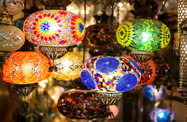 Colorful Turkish Laterns