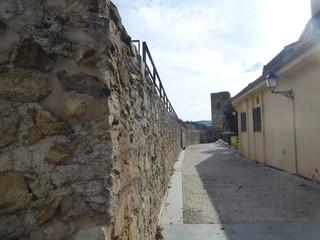Buitrago del Lozoya, pueblo conjunto historico artistico de Madrid ( España)  bajo el puerto de Somosierra, en la sierra de Guadarrama
