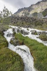 Akkem river. Altai mountain. Russia