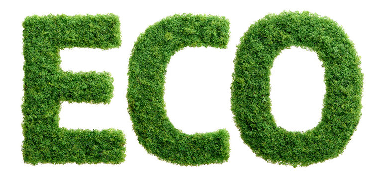 Grass growth ECO letters isolated