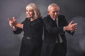 Beautiful old couple