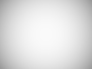 Blank light grey blurred background with radial gradient. Studio room backdrop. Vector vignette photo effect