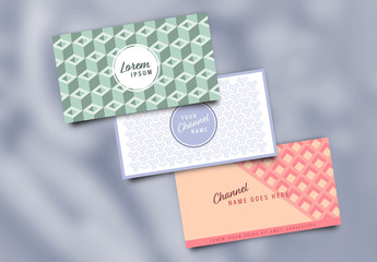 Geometric Accents Page Header Layouts