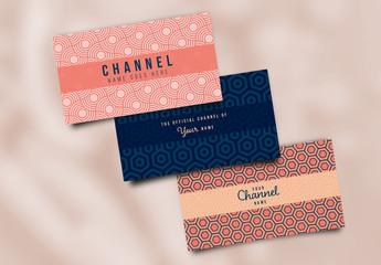 3 Video Channel Art Layouts