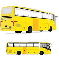 Пассажирский автобус, вектор