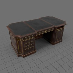 Classical wooden desk