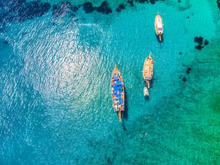 Drone view to the Aegean sea Fotomurais