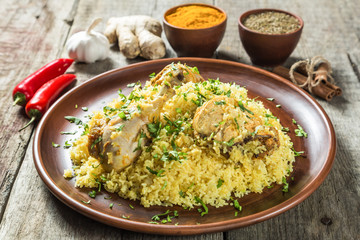 Biryani. The national dish of Indian cuisine.