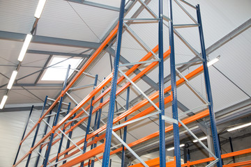 warehouse optimisation shelving storage, metal, pallet racking system