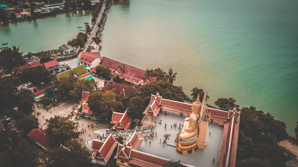 Big Buddha from above, in Koh Samui, Thailand
