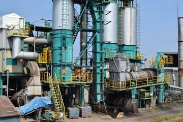 アスファルト工場