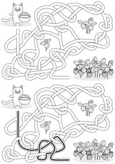 Little cat maze