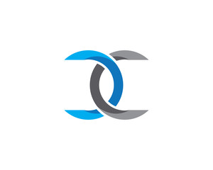 C Letter corporate abstract unity vector logo