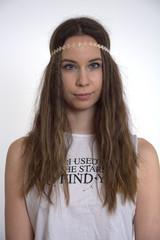 Porträt Hippie Mädchen