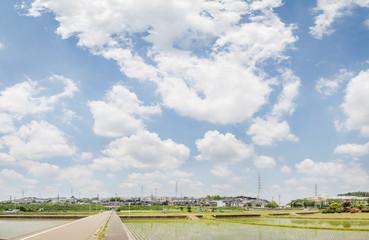 横浜郊外の風景