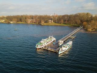 Fahrgastschiffe auf dem Tollensesee, Neubrandenburg