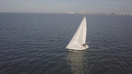 Boat sailing - France