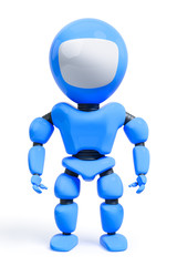 a sweet toy male robot