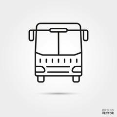 Coach vector icon.