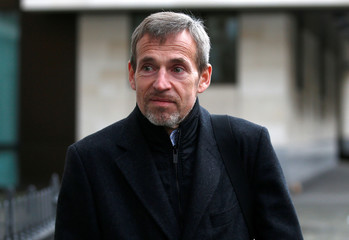 Banker, Achim Kraemer leaves Westminster Magistrates court in London
