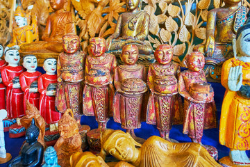 The souvenirs from Myanmar