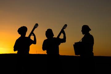 Musica no fim do dia