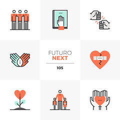 Friendship Culture Futuro Next Icons