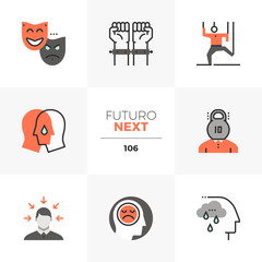 Mental Problem Futuro Next Icons