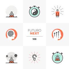 Mindfulness Futuro Next Icons
