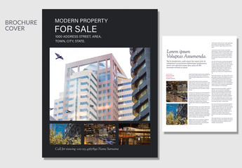 Real Estate Property Flyer Layout