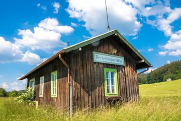 Ehemaliger Bahnhof der Staudenbahn