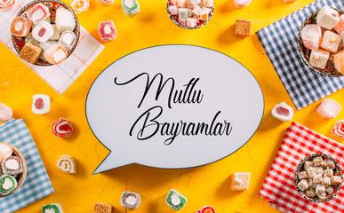 Ramadan Mubarak Text and Turkish Delights