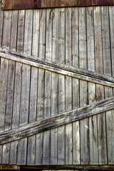 Wood boards wall grunge background