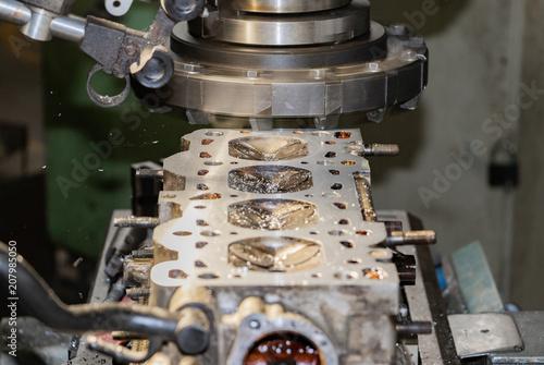 cylinder head milling Decking Resurfacing