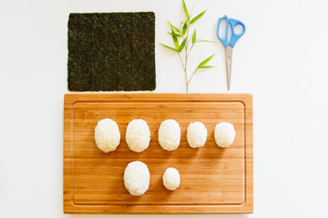Deconstructed Panda Rice Cakes