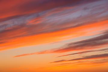 evening red sunset texture