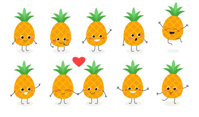 Pineapple emoticon №1