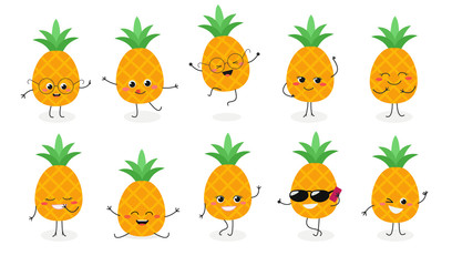 Pineapple emoticon №2