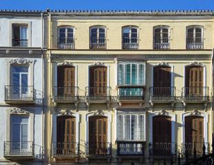 Facade of an old building