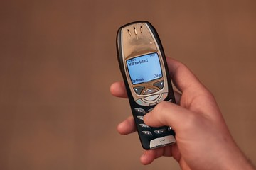 Old Phone Texting
