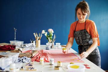 Art of printing textile
