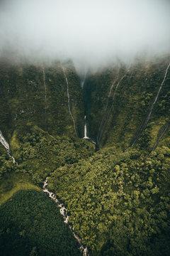 Moloka'i waterfall