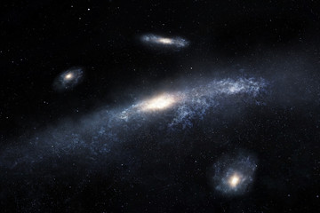 Distant spiral galaxies