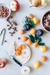 Fresh organic fruit