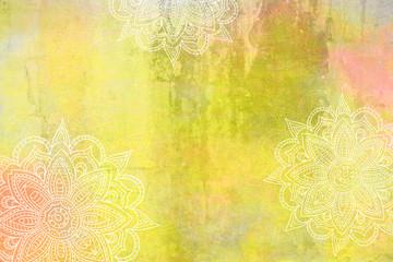 Mandala Grunge