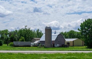 Farm Along The Road