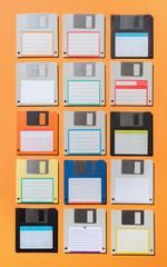 Various floppy disks
